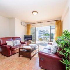 Отель Mike & Lenos Tsoukkas Seaview Apartments Кипр, Протарас - отзывы, цены и фото номеров - забронировать отель Mike & Lenos Tsoukkas Seaview Apartments онлайн комната для гостей фото 4