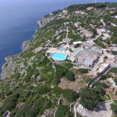 Отель Scogliera del Gabbiano Италия, Гальяно дель Капо - отзывы, цены и фото номеров - забронировать отель Scogliera del Gabbiano онлайн пляж