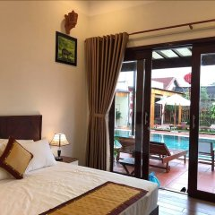 Отель Ha My Beachside Villa Hoian комната для гостей фото 3