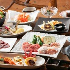 Отель Ryokan Hanagokoro Минамиогуни питание фото 2