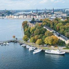 Отель SKEPPSHOLMEN Стокгольм приотельная территория