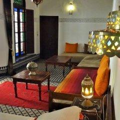 Отель Riad Razane Марокко, Фес - отзывы, цены и фото номеров - забронировать отель Riad Razane онлайн интерьер отеля фото 3