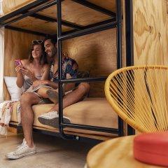 Отель Mayan Monkey Los Cabos - Hostel - Adults Only Мексика, Золотая зона Марина - отзывы, цены и фото номеров - забронировать отель Mayan Monkey Los Cabos - Hostel - Adults Only онлайн удобства в номере фото 2