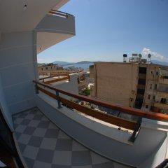 Отель Sunset Hostel Албания, Саранда - отзывы, цены и фото номеров - забронировать отель Sunset Hostel онлайн балкон