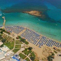 Отель Panorama Villa Кипр, Протарас - отзывы, цены и фото номеров - забронировать отель Panorama Villa онлайн пляж фото 2
