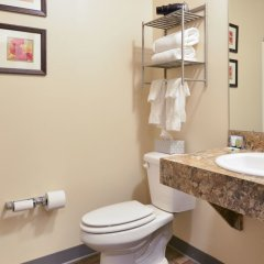 Отель HolmeSuites Columbus Airport/DLA США, Колумбус - отзывы, цены и фото номеров - забронировать отель HolmeSuites Columbus Airport/DLA онлайн ванная фото 2