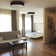 Отель Apartamenty Jazz 2 комната для гостей