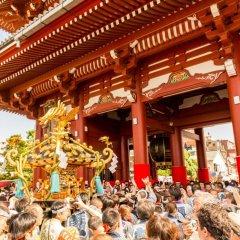 Отель Residential Hotel B:CONTE Asakusa Япония, Токио - 1 отзыв об отеле, цены и фото номеров - забронировать отель Residential Hotel B:CONTE Asakusa онлайн фото 4