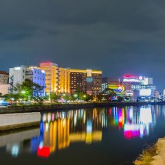 AAC Hotel Hakata Хаката приотельная территория