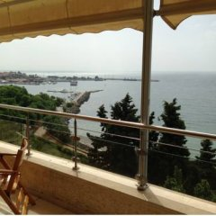 Апартаменты Black Sea Panorama Beach Apartments балкон