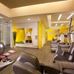 Отель Citadines Biyun Shanghai Китай, Шанхай - отзывы, цены и фото номеров - забронировать отель Citadines Biyun Shanghai онлайн фитнесс-зал фото 2