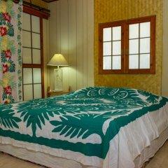Отель Fare Edith Французская Полинезия, Муреа - отзывы, цены и фото номеров - забронировать отель Fare Edith онлайн комната для гостей фото 3