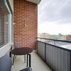 Отель Sato Hotelhome Kamppi Хельсинки балкон