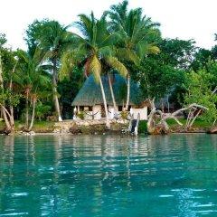 Hotel Rancho Encantado бассейн