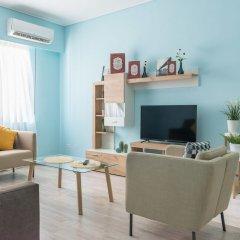 Апартаменты Syntagma Square Apartments by Livin Urbban Афины комната для гостей фото 5