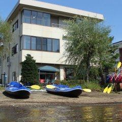 Отель Lake Side Inn Fujinami Яманакако приотельная территория фото 2