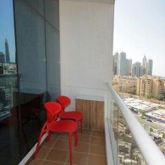 Отель Piks Key - Burj Al Nujoom Дубай балкон