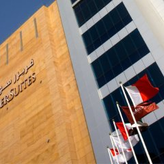Отель Fraser Suites Dubai Дубай парковка