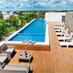 Отель Opal Suites Мексика, Плая-дель-Кармен - отзывы, цены и фото номеров - забронировать отель Opal Suites онлайн бассейн фото 2