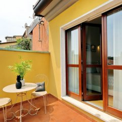 Отель Hintown Chic & Boutique Италия, Милан - отзывы, цены и фото номеров - забронировать отель Hintown Chic & Boutique онлайн балкон