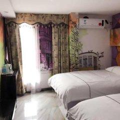 Отель Nihang Theme Hotel Китай, Шанхай - отзывы, цены и фото номеров - забронировать отель Nihang Theme Hotel онлайн комната для гостей фото 3