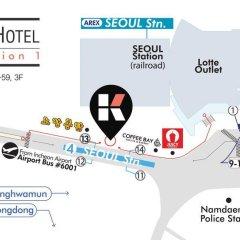 K-Grand Hotel & Guest House Seoul городской автобус