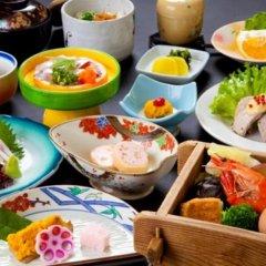 Отель Beppu Kannawa Onsen Hotel Fugetsu Hammond Япония, Беппу - отзывы, цены и фото номеров - забронировать отель Beppu Kannawa Onsen Hotel Fugetsu Hammond онлайн питание фото 2