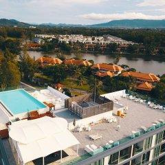 Отель Oceanstone 604 бассейн