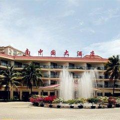Sanya South China Hotel парковка