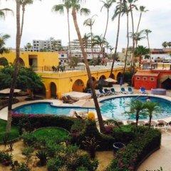 Отель Mar de Cortez Мексика, Кабо-Сан-Лукас - отзывы, цены и фото номеров - забронировать отель Mar de Cortez онлайн бассейн фото 2