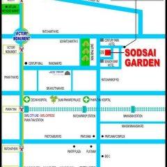 Отель Sodsai Garden Бангкок городской автобус