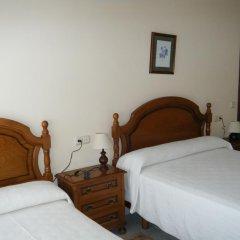 Отель Hostal As Viñas сейф в номере