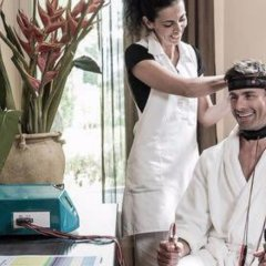 Отель Villa Eden Leading Park Retreat Италия, Меран - отзывы, цены и фото номеров - забронировать отель Villa Eden Leading Park Retreat онлайн приотельная территория фото 2