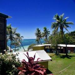 Отель Sunrise Lagoon Homestay пляж