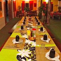 Отель Pension Justine Французская Полинезия, Тикехау - отзывы, цены и фото номеров - забронировать отель Pension Justine онлайн помещение для мероприятий
