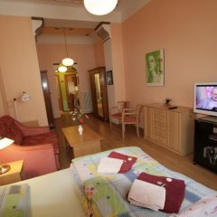 Отель Apartmany U Divadla Чехия, Карловы Вары - отзывы, цены и фото номеров - забронировать отель Apartmany U Divadla онлайн комната для гостей фото 2