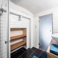 Отель Erzsébet Apartmanok ванная фото 2