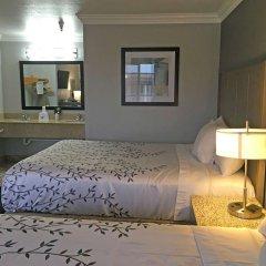 Отель Americas Best Value Inn - Milpitas комната для гостей фото 5