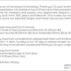 Отель Iamsaigon Homestay 100 Profit For Orphanage фото 5