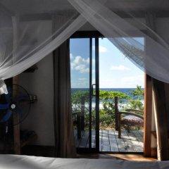Отель Le Crusoe Французская Полинезия, Бора-Бора - отзывы, цены и фото номеров - забронировать отель Le Crusoe онлайн балкон фото 2