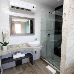 Отель Xcala Illusion Express Мексика, Плая-дель-Кармен - отзывы, цены и фото номеров - забронировать отель Xcala Illusion Express онлайн ванная фото 2