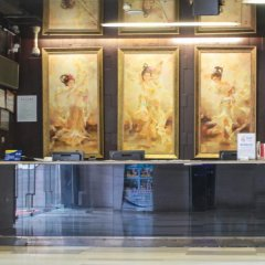 Q - City Hotel интерьер отеля фото 3