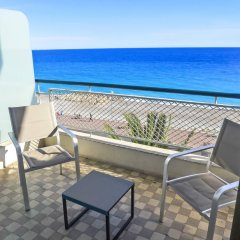 Отель La Floride Promenade des Anglais Франция, Ницца - отзывы, цены и фото номеров - забронировать отель La Floride Promenade des Anglais онлайн балкон