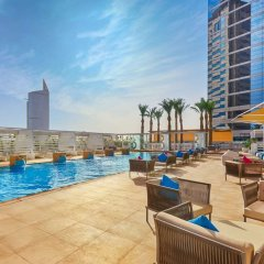 Media One Hotel Dubai бассейн фото 2