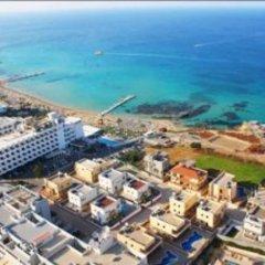Отель Mike & Lenos Tsoukkas Seaview Apartments Кипр, Протарас - отзывы, цены и фото номеров - забронировать отель Mike & Lenos Tsoukkas Seaview Apartments онлайн пляж