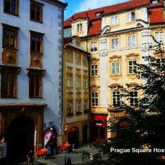 Prague Square Hostel Прага городской автобус
