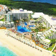 Отель Now Emerald Cancun (ex.Grand Oasis Sens) Мексика, Канкун - отзывы, цены и фото номеров - забронировать отель Now Emerald Cancun (ex.Grand Oasis Sens) онлайн бассейн фото 3