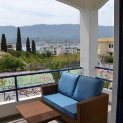 Отель Valente Perlia Rooms Греция, Порос - отзывы, цены и фото номеров - забронировать отель Valente Perlia Rooms онлайн балкон