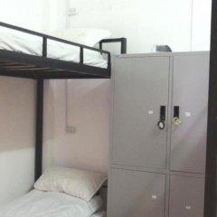 Отель Sapa Backpackers сейф в номере