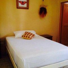 Отель Hostel Kiosco Verde Folk Room Мексика, Канкун - отзывы, цены и фото номеров - забронировать отель Hostel Kiosco Verde Folk Room онлайн комната для гостей фото 3